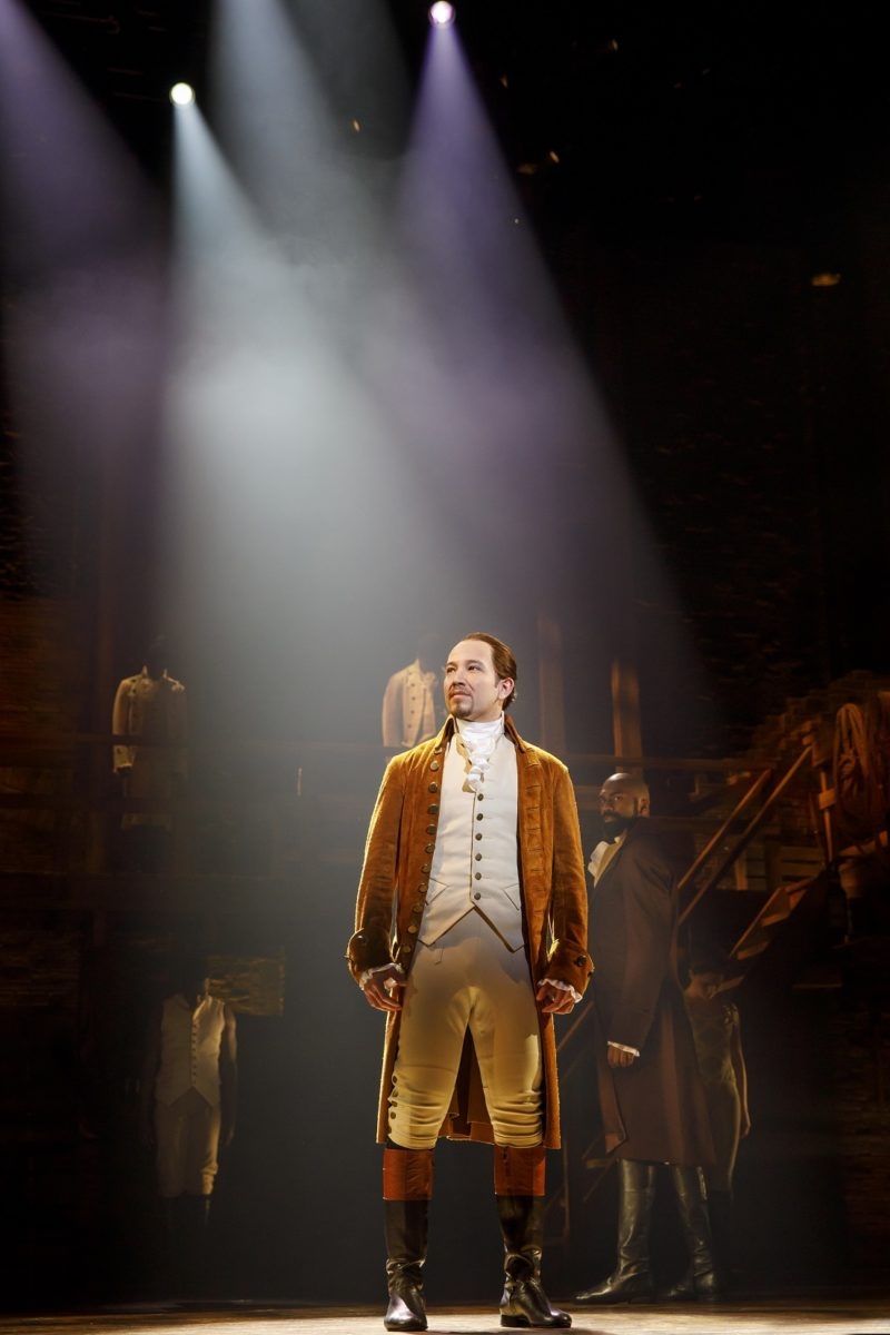 Young Alexander Hamilton arrives to America.