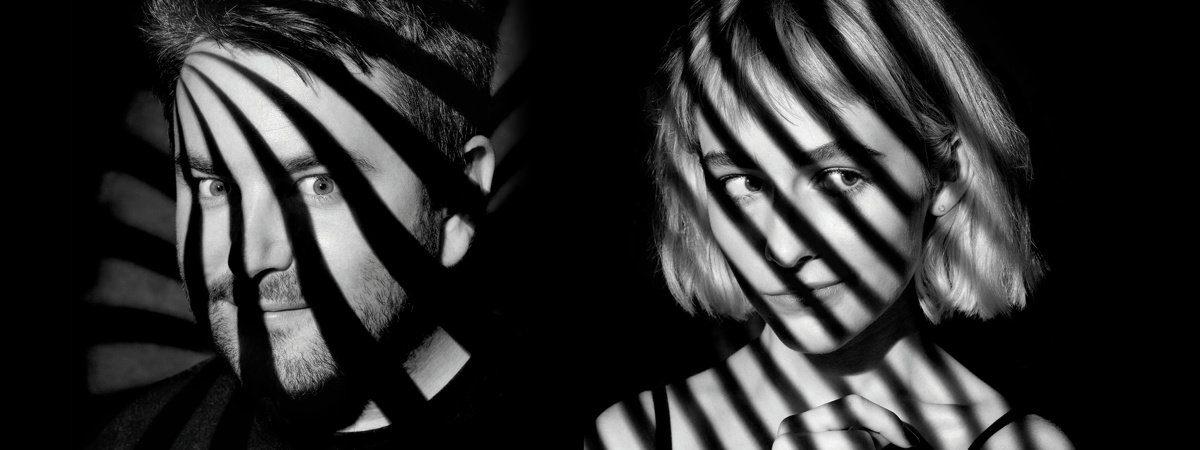 LEAD IMAGE - BEETLEJUICE - Alex Brightman and Sophia Anne Caruso - 8/18 - Darren Cox/ SpotCo -