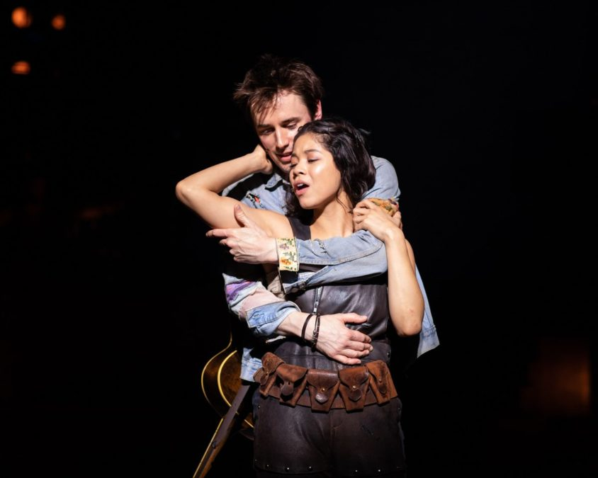 London - Hadestown - Reeve Carney - Eva Noblezada - National Theatre - 11/2018 - Helen Maybanks