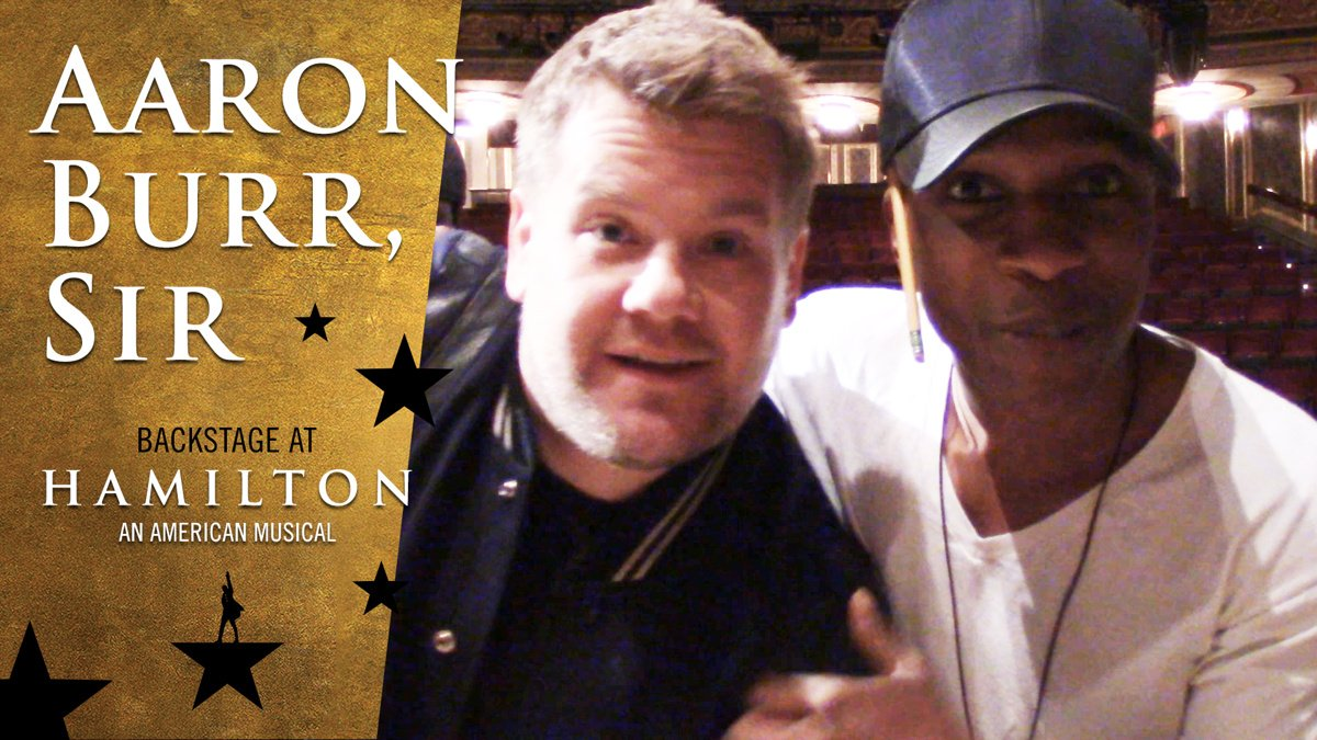 Vlog - Aaron Burr - 6/16 - James Corden