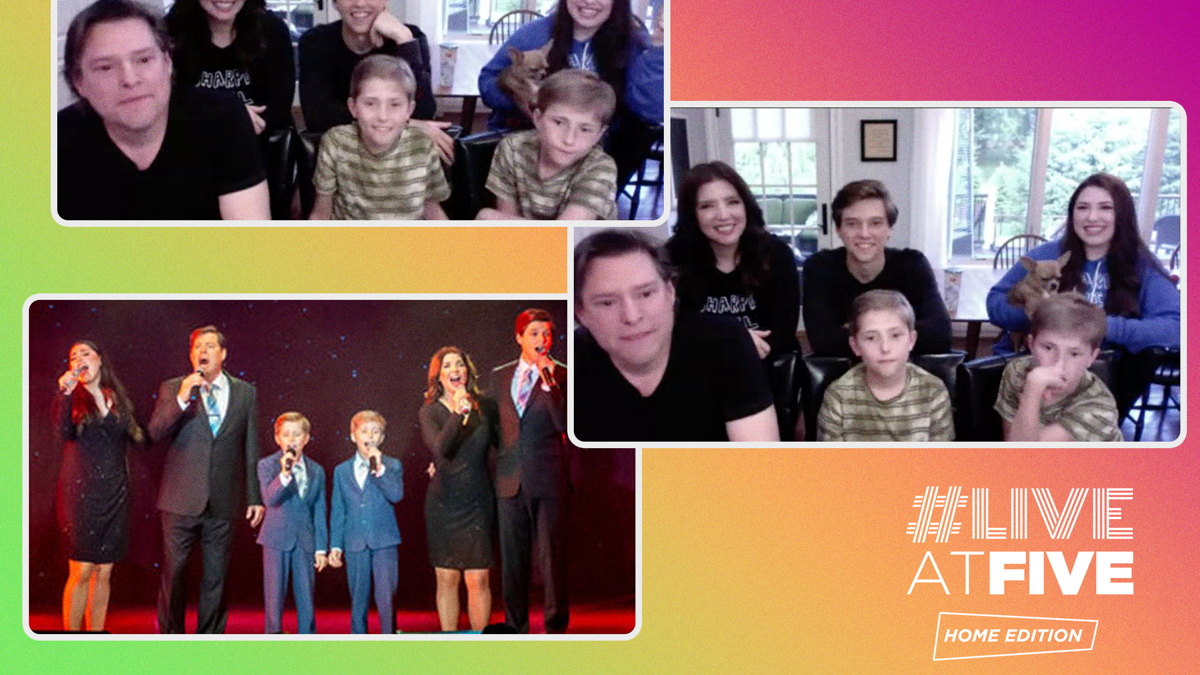 Live at Five Home Edition - Sharpe Family Singers - 6/20