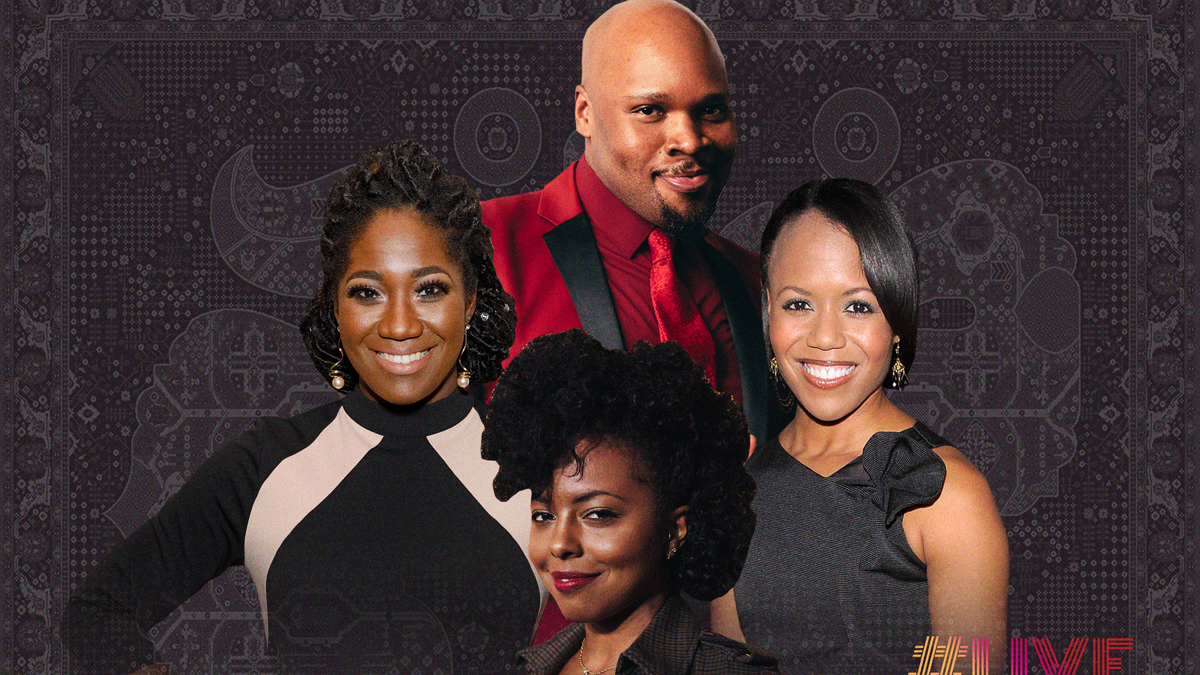 Live at Five Roundtable - Michael James Scott - Amber Iman - Adrienne Warren - Nikki Renee Daniels - 7/20