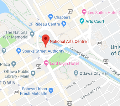 Google Map of the National Arts Centre