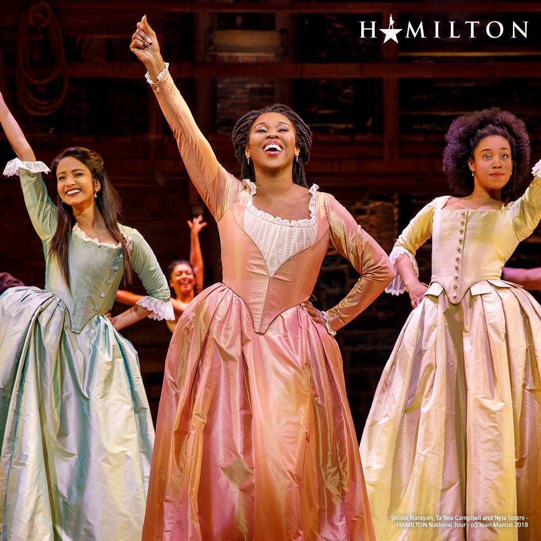 Hamilton Production Shot Sisters